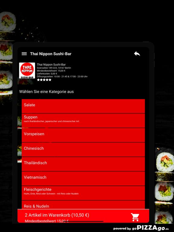 Thai Nippon Sushi-Bar Berlin screenshot 8