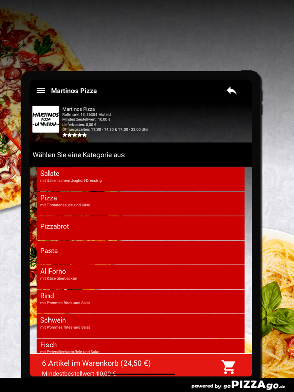 Martinos Pizza Alsfeld screenshot 8