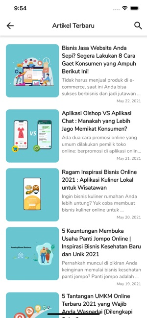 Markey News Blog On The App Store