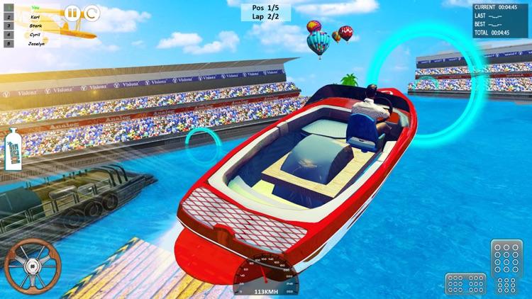 Speed Boat Driving Game 2021 screenshot-6