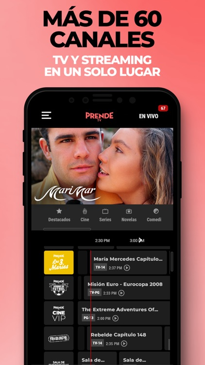 PrendeTV: TV & Cine en Español