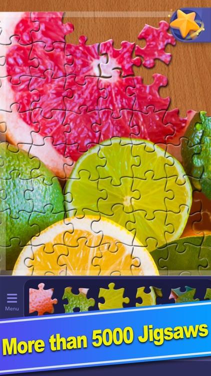 ColorPlanet® Jigsaw Puzzle HD screenshot-6