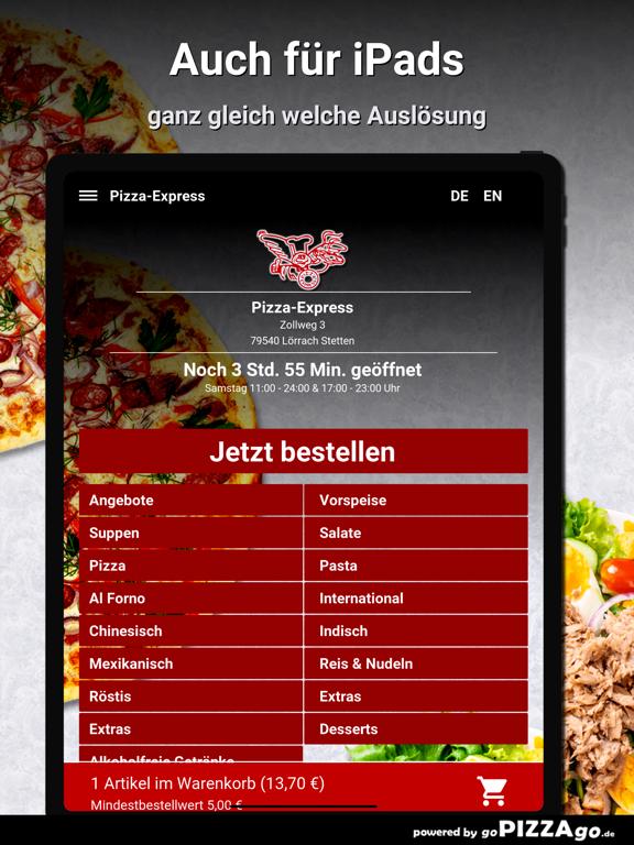 Pizza-Express Lörrach Stetten screenshot 7
