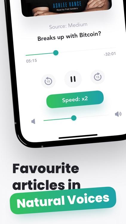 Peech: #1 Audio Text Reader screenshot-3