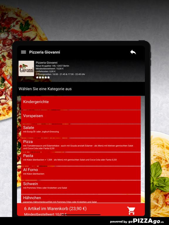 Pizzeria Giovanni Berlin screenshot 8