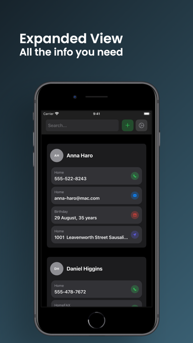 ContactsBot: Contacts Manager