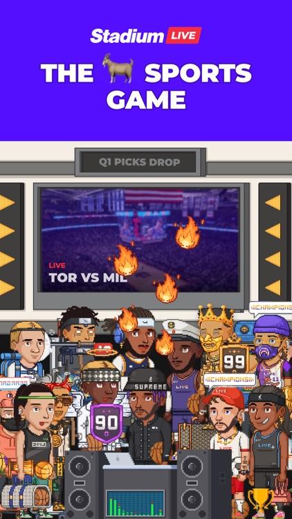 Stadium Live: The Sports Game screenshot-0