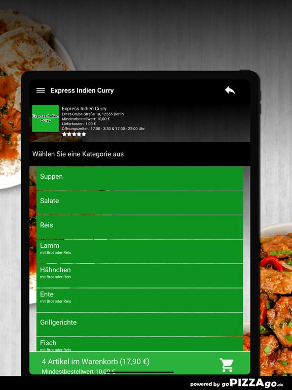 Express Indien Curry Berlin screenshot 8