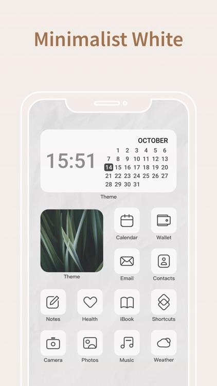 Icon Theme: Minimalist,Neutral screenshot-4