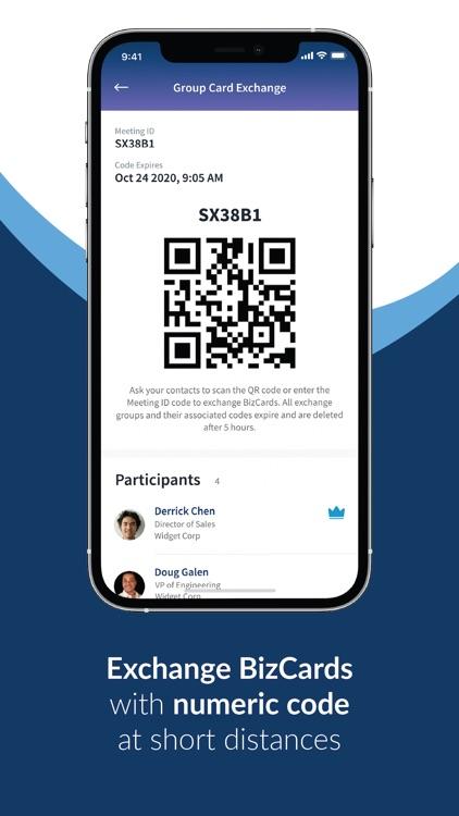DoveCard: Share Business Cards screenshot-4