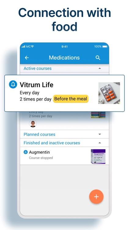 Pill Reminder & Health Tracker screenshot-5