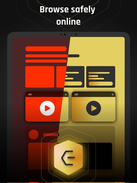 Ipad Screen Shot Eclipse VPN: Online Security 0