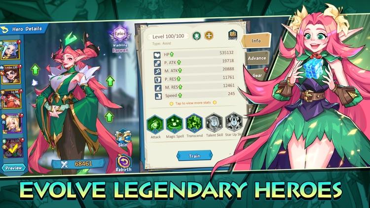 Hero Squad - Idle Adventure screenshot-3
