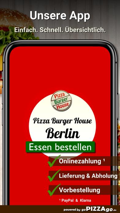 Pizza Burger House Berlin screenshot 1
