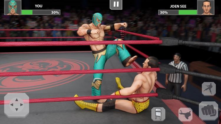Wrestling Rumble: PRO Fighting screenshot-3