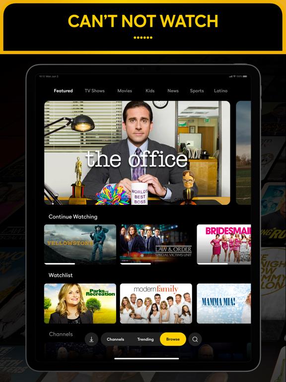iPad Image of Peacock TV: Stream TV & Movies