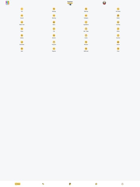 Bites for You Merchant App screenshot 5