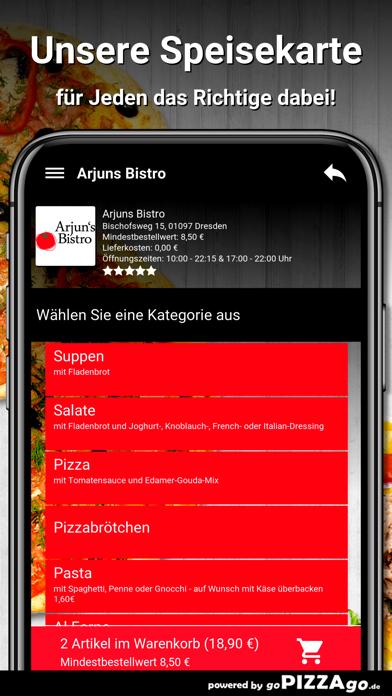 Arjuns Bistro Dresden screenshot 4