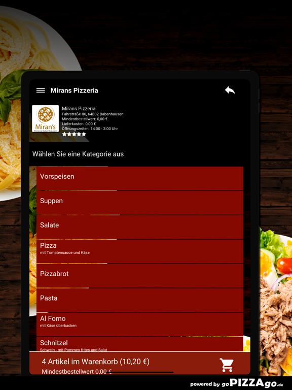 Mirans Pizzeria Babenhausen screenshot 8