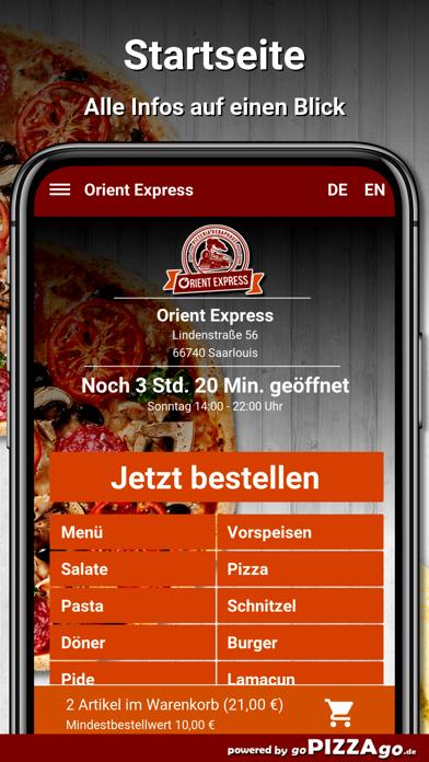 Orient Express Saarlouis screenshot 3