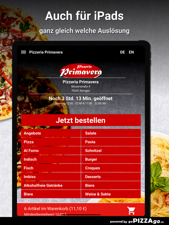 Pizzeria Primavera Ihringen screenshot 7
