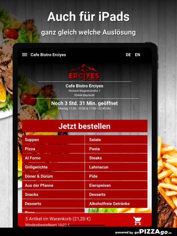Cafe Bistro Erciyes Bayreuth screenshot 7