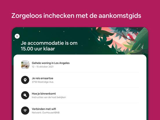 Airbnb iPad app afbeelding 6