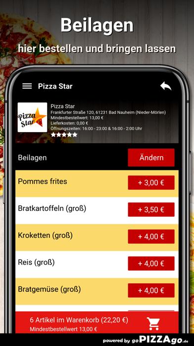 Pizza Star Bad Nauheim screenshot 6