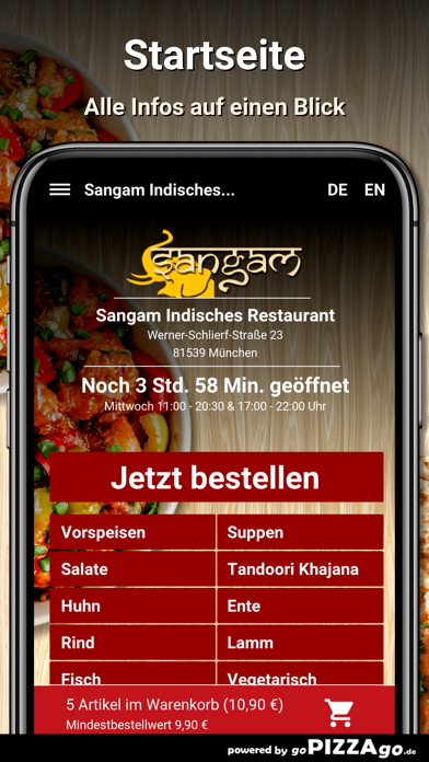 Sangam München screenshot 2