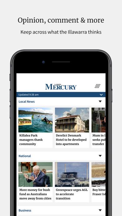 Illawarra MercuryScreenshot of 6