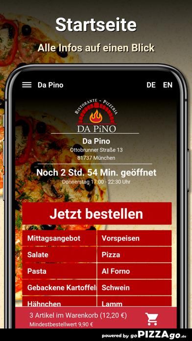 Da Pino München screenshot 2