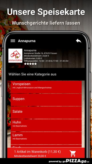 Annapurna Füssen screenshot 4