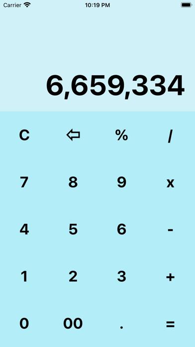 My BlueCalculatorلقطة شاشة1