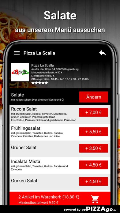 Pizza La Scalla Regensburg screenshot 5