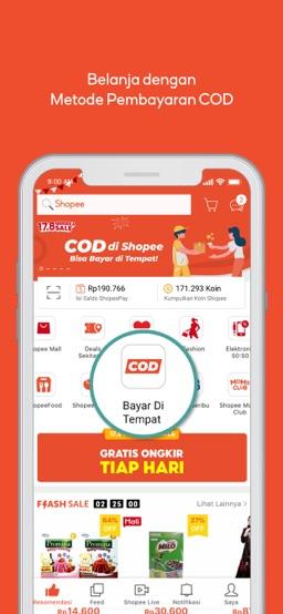 Shopee 17.8 Merdeka Sale app screenshot