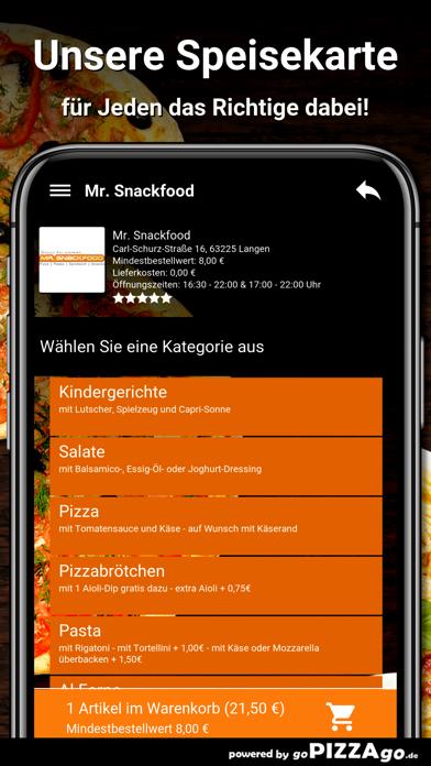 Mr. Snackfood Langen screenshot 4