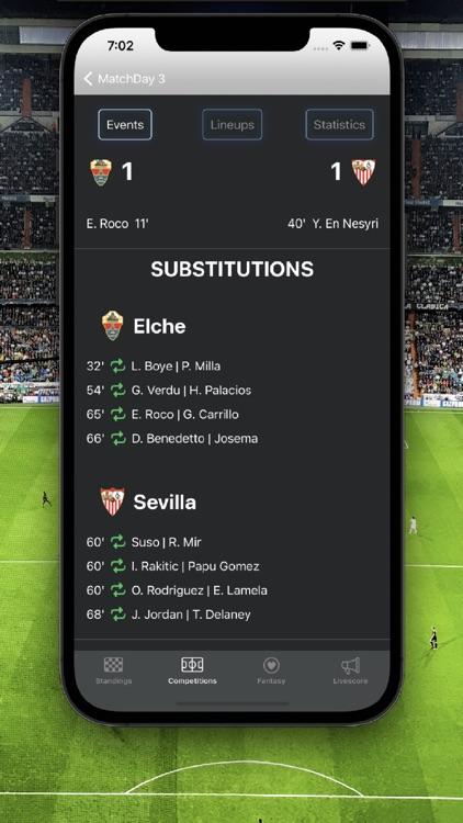 La Liga Football Scores screenshot-3