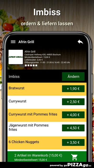 Afrin Grill Bochum screenshot 6