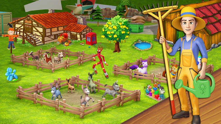 Farm King : Donkey Life Sim screenshot-3