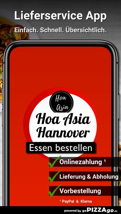 Hoa Asia Restaurant Hannover screenshot 1