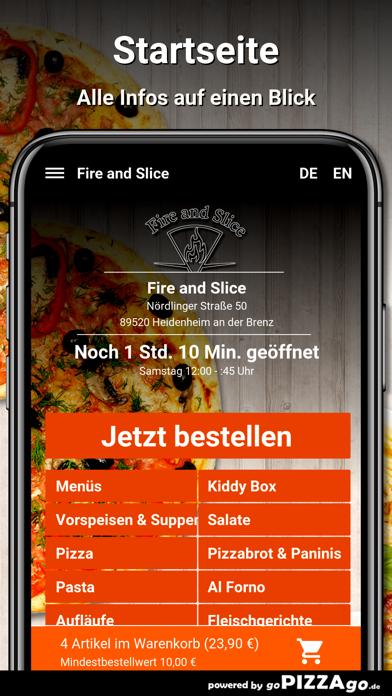 Fire and Slice Heidenheim screenshot 2