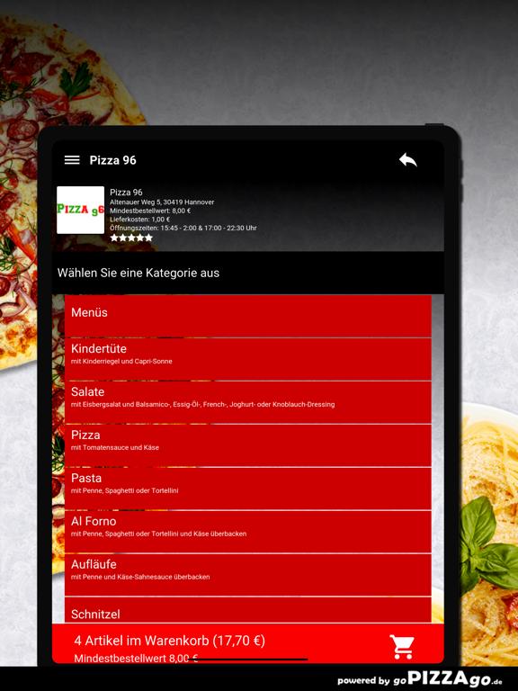 Pizza-96 Hannover screenshot 7