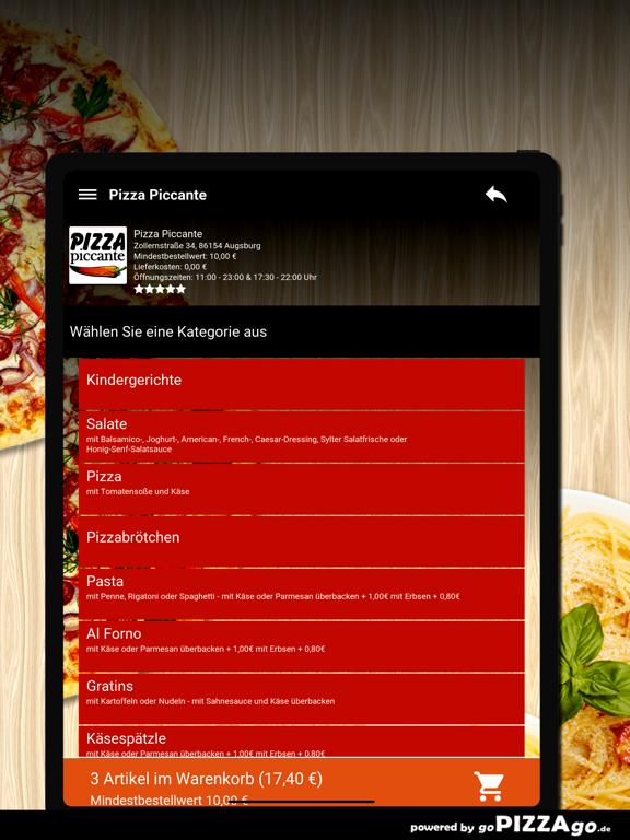 Pizza Piccante Augsburg screenshot 8