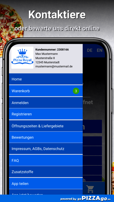 Pizza Royal Heimservice Worms screenshot 3