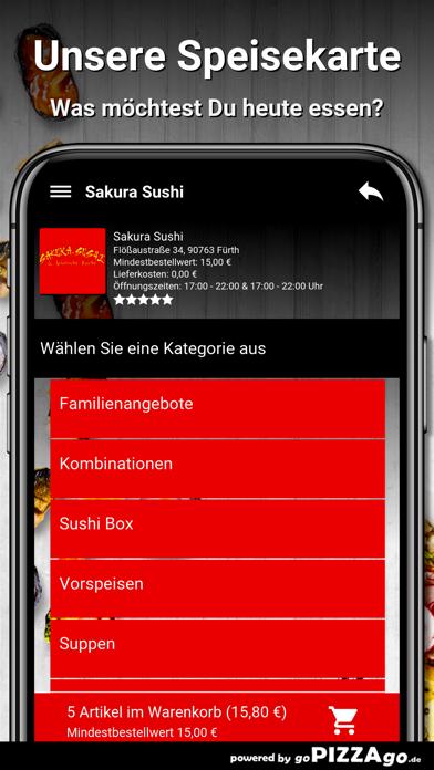 Sakura Sushi Fürth screenshot 4
