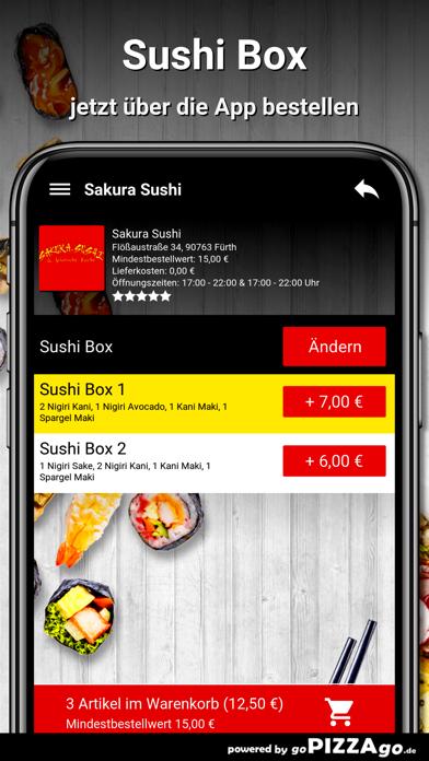Sakura Sushi Fürth screenshot 5