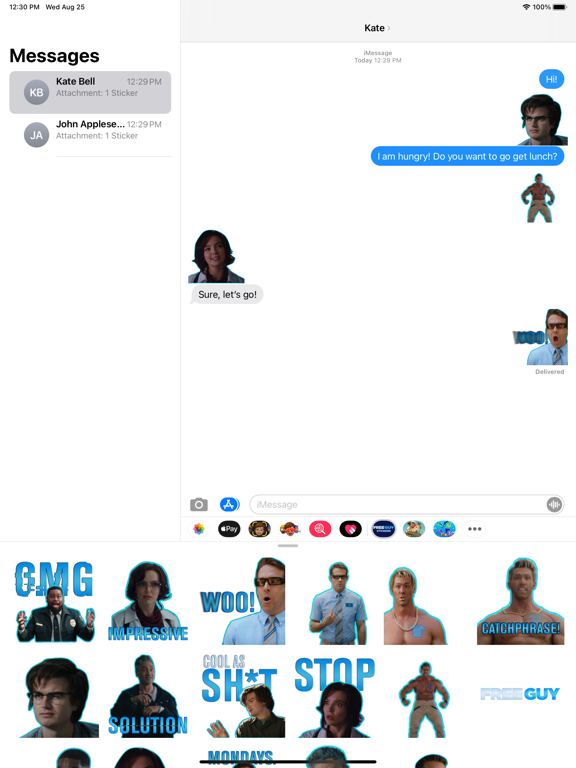 Free Guy Stickers screenshot 7