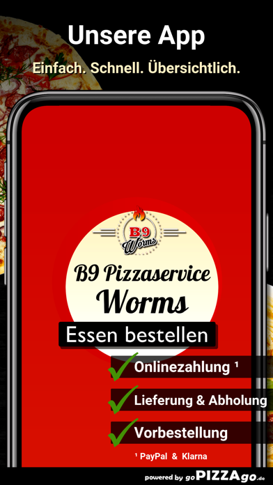 B9 Pizzaservice Worms screenshot 1