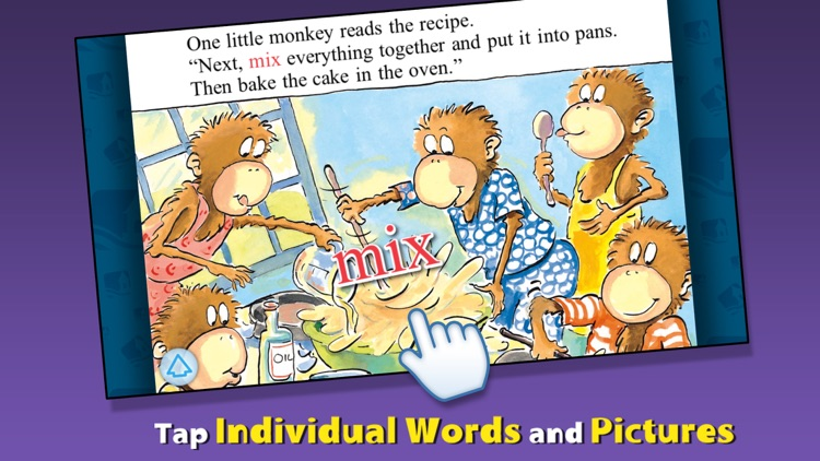 5 Monkeys Bake a Birthday Cake