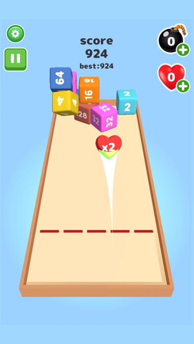 2048 Throw cube - Merge Game screenshot 4
